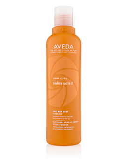 aveda sun care protecting cleanser