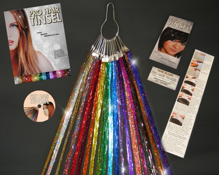 Pro Silk Hair Tinsel Extensions By Hair Flairs To Give Your Hair That Shimmering Bling