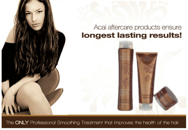 brazilian blowout acai products