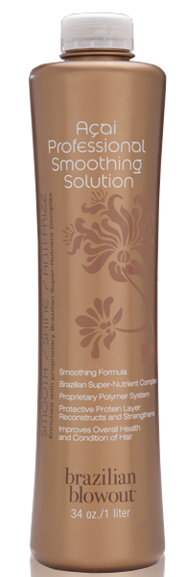 brazilian blowout acai smoothing solution