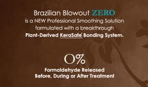 brazilian blowout zero solution